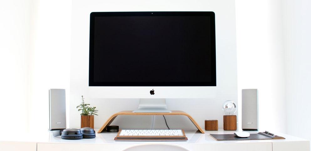 office desk computer