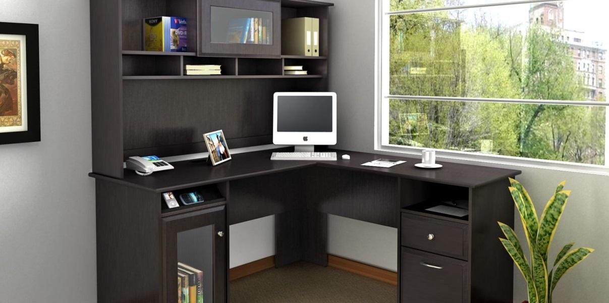 l-shaped corner office desk
