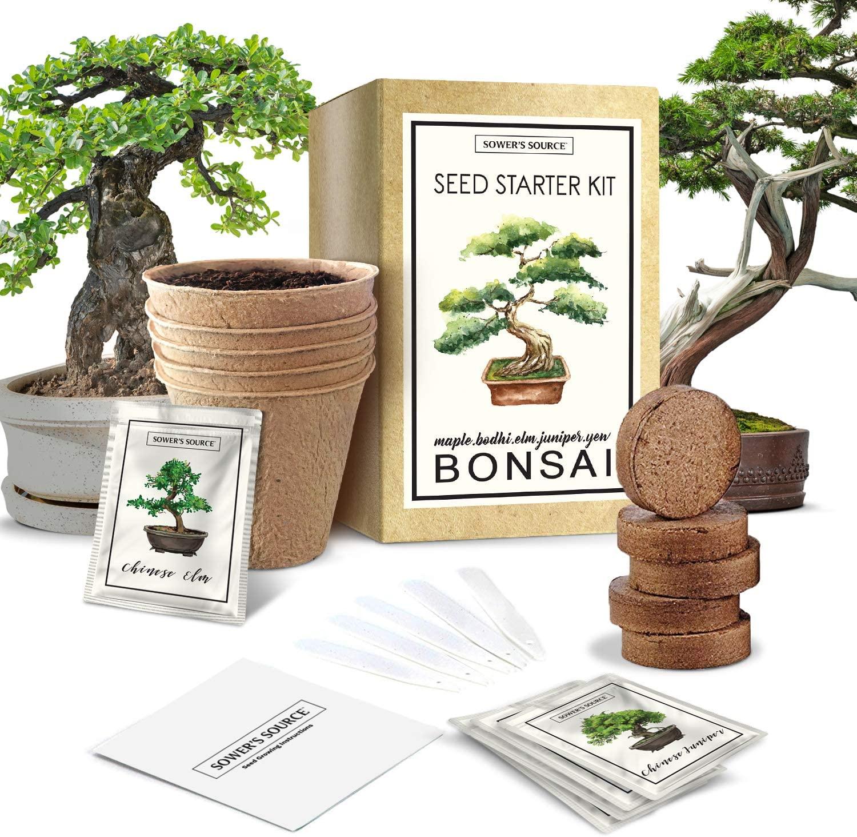 Sower's Source Bonsai Tree Starter Kit
