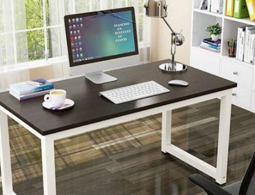 How to Build a Simple Desk | Office Desk DIY