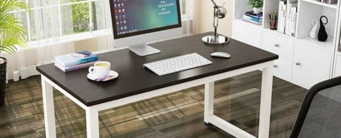 Amazing How To Build A Simple Desk | Office Desk DIY · Office Design