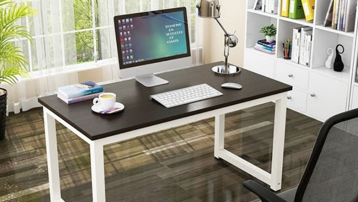 simple diy office desk