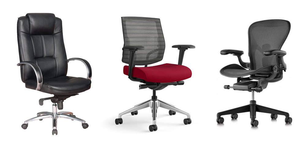 best office chair and types of office chairs