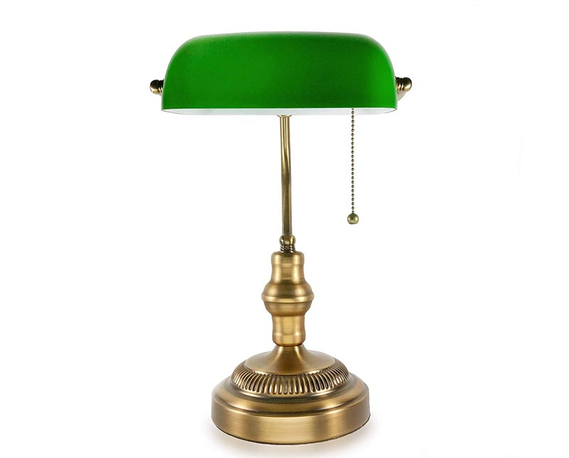 Traditional Bankers Lamp