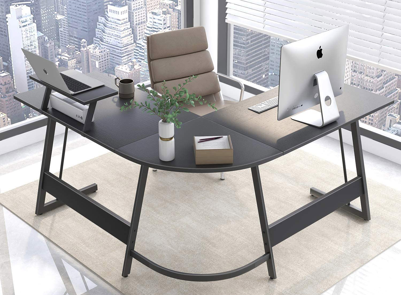 Cubiker L-shaped Computer Desk