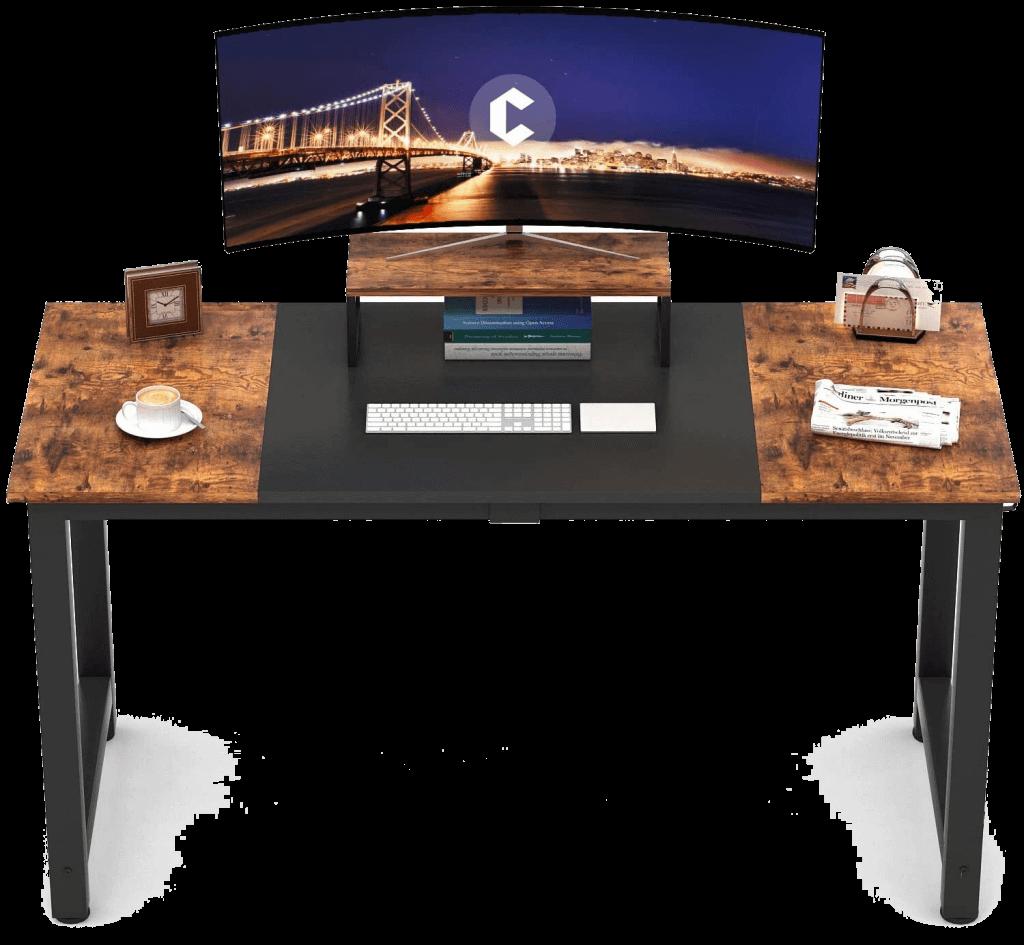 CubiCubi Dual Monitor Desk