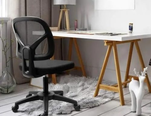 KOLLIEE Armless Office Chair – Great Budget Chair For Your Home Office