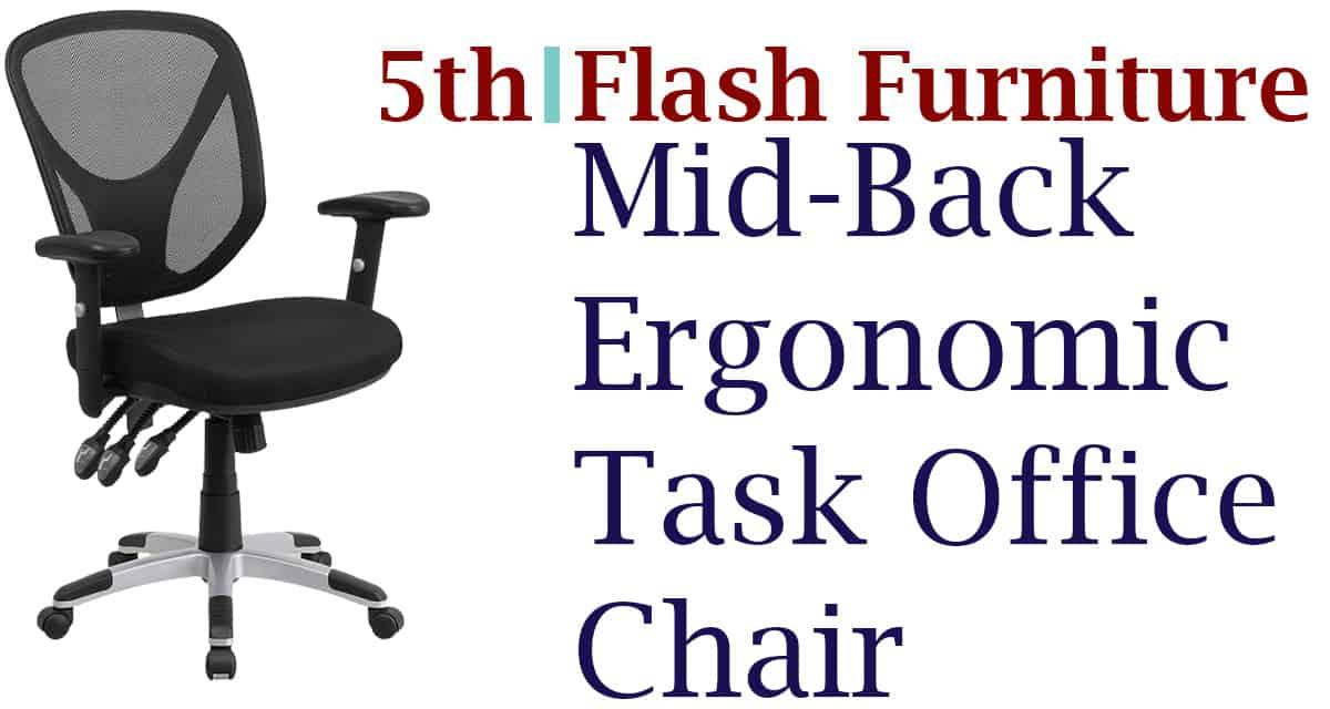 Flash-Furniture Mid-Back Task Chair